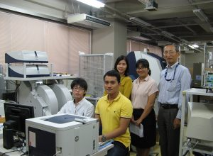 Graduate Students from The Kingdom of Thailand joined the workshop that was held in Hirosaki University