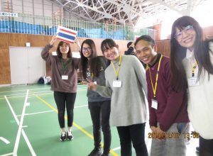 Joint camp for university students in northern Tohoku was held