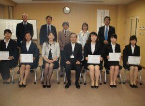 平成29年度弘前大学「HIROSAKIはやぶさカレッジ」修了式を開催しました