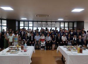 平成30年度外国人留学生卒業者・修了者を送る会兼ねぷた祭り交歓会&出陣
