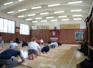 【サワダ先生】剣道授業の風景